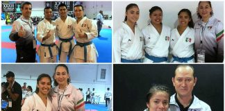 La determinación del equipo mexicano de karate en el XXXII Pan American Championships en Panamá, logró que se obtuvieran seis plazas más para Juegos Panamericanos Lima 2019, con lo que ya suman 11 de las 14 posibles.