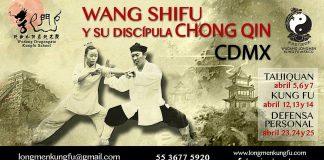 """Una gran oportunidad de conocer las artes marciales daoístas de Wudang, China, se presentará en la CDMX, a través de una serie de seminarios que serán impartidos por Wang Shifu, maestro de la """"Montaña Sagrada"""" de WudanshanWudan, y su discípula Chong Qin."""