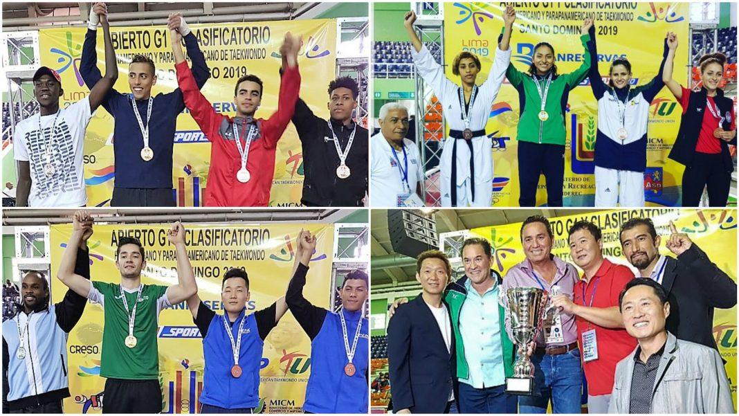 La Selección Mexicana de Taekwondo se lució en el Abierto G1 de República Dominicana, donde además de obtener un total de 30 medallas, recibieron el premio a los mejores entrenadores en poomsae y combate.