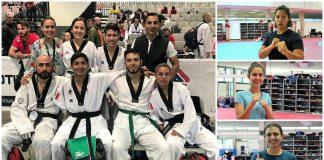 Un total de nueve medallas logró ganar el equipo mexicano que acudió al Abierto de Taekwondo Las Vegas.