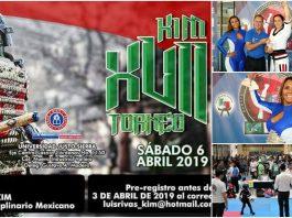 """Se acerca la fecha """"En Tiempo y Forma"""" para la realización del XVII Torneo Kim de Artes Marciales, donde ya se encuentran confirmada la presencia de más de 50 organizaciones ."""