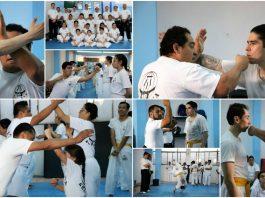 Instructores de la Federación Sudamericana de Krav Maga-México (FSAKM-Mx), llevaron a cabo una sesión especial de revisión de técnicas de este sistema de defensa personal, a un grupo de alumnos que en días pasados presentaron su examen para subir de grado, a fin de corroborar sus conocimientos para poder proteger su integridad.