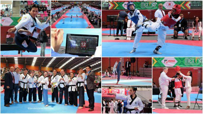 """La gran fiesta de tres días del México Open Taekwondo 2019 arrancó en la CDMX, con las competencias de ParaTaekwondo y Poomsae en la Sala de Armas """"Fernando Montes de Oca"""", de la Ciudad Deportiva Magdalena Mixihuca."""