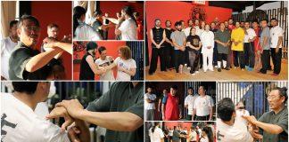 Una gran experiencia de las artes marciales chinas de casi un mes de duración, fue lo que vivieron los participantes de los seminarios impartidos en la Ciudad de México por Wang Shifu, uno de los maestros más respetados de la Montaña Sagrada de Wudanshan, quien estuvo acompañado por su discípula Wang Chong Qin.