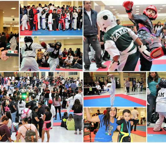 Con una gran asistencia de competidores y ambiente deportivo y familiar, el XVII Torneo Kim de Artes Marciales rebasó las expectativas de asistentes, escuelas y carca de dos mil practicantes que llegaron de diferentes estados del país, e incluso, del extranjero.