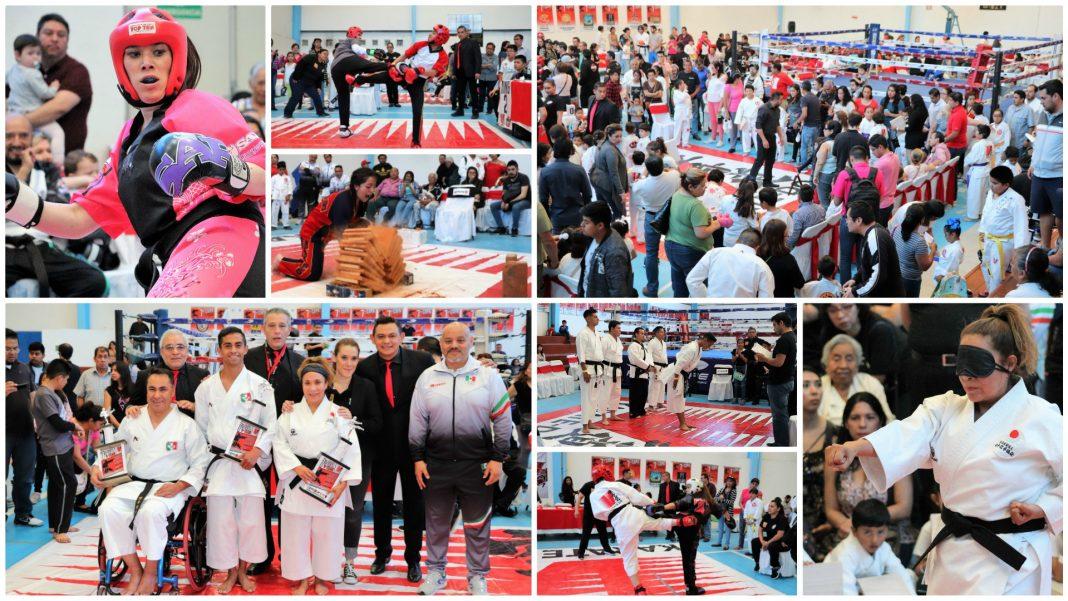 Una demostración de esfuerzo y espíritu se vivió en la 7ª Copa Team, de la organización V Karate Do México, a la cual asistieron competidores de siete estados del país y del extranjero, y donde integrantes de la Selección Mexicana de Para-Karate, ganadores del XXVII Pan American Championships Panamá 2019, fueron los invitados de honor.