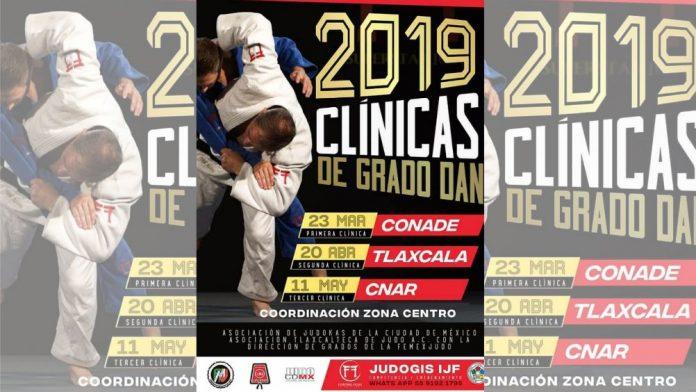 El municipio de Apetatitlán, Tlaxcala, será la sede de la 2ª Clínica de Grados Dan de Judo que se realizará este sábado 20 de abril, para que aspirantes al grado de Cinta Negra se preparen para el próximo Examen Nacional de Grados por parte de la Federación Mexicana de Judo (FMJ).