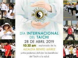 Gran interés ha generado la clase abierta y gratuita que se realizará para festejar el Día Internacional de Taichí en la Explanada de la Alcaldía Benito Juárez, en la cual participarán integrantes del movimiento México Unido por el Taichi.
