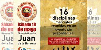 Exponentes de disciplinas marciales de oriente y occidente se darán cita en el 'Gran Festival de las Artes Marciales', un evento sin precedentes para unir y hermanar a practicantes de las diferentes técnicas de México.