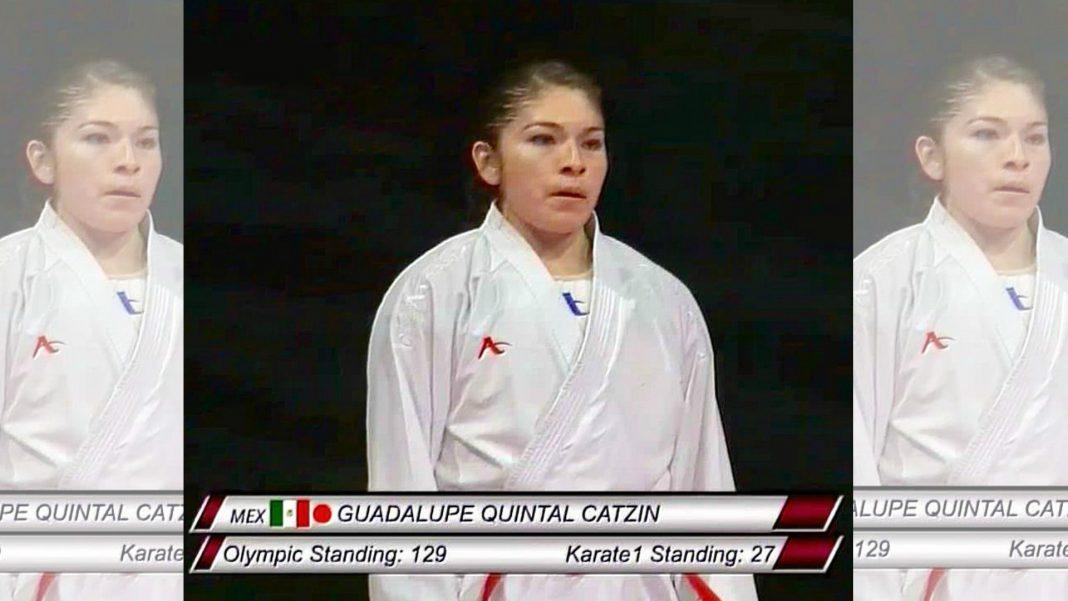 Guadalupe Quintal Catzín, de Yucatán, puso en alto el nombre de México al lograr ganar la medalla de plata en el Karate Premier League de Rabat, Marruecos.