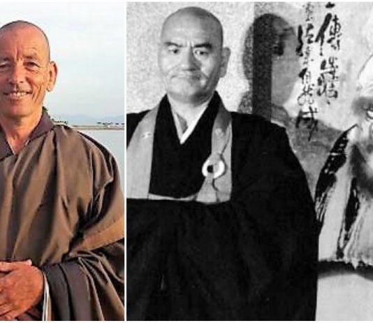 Maestro Zen Soko y Taisen Deshimaru. Fotos: Cortesía.