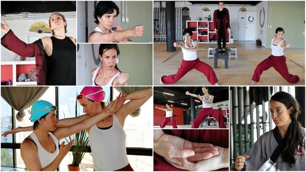"""Un grupo de actrices y artistas marciales unirán sus talentos para presentar una interesante y peculiar clase muestra denominada """"Kung Fu Lenguaje Escénico"""", como una vía para fusionar ambas expresiones en un montaje teatral, así como para el enriquecimiento mutuo de la actuación y la práctica marcial."""