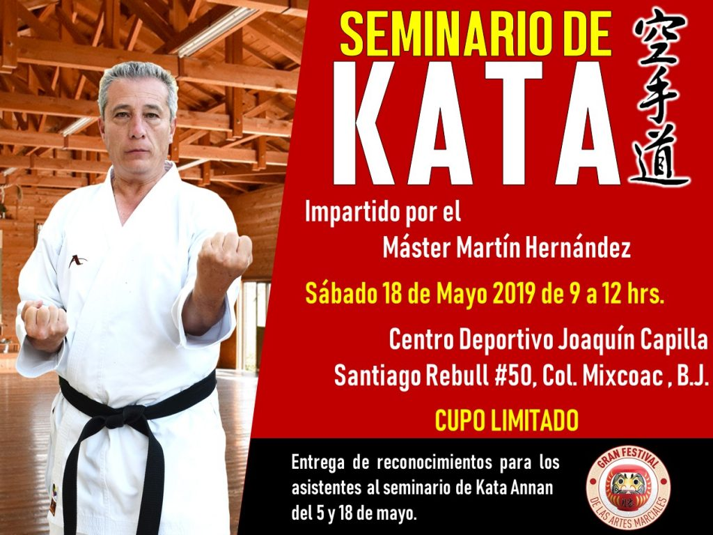 Seminario Kata Annan Karate Do.