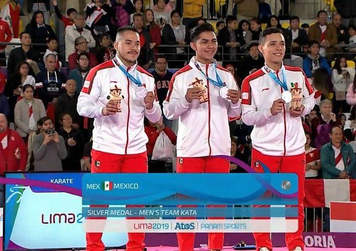 Equipo Varonil Kata Karate Lima 2019.